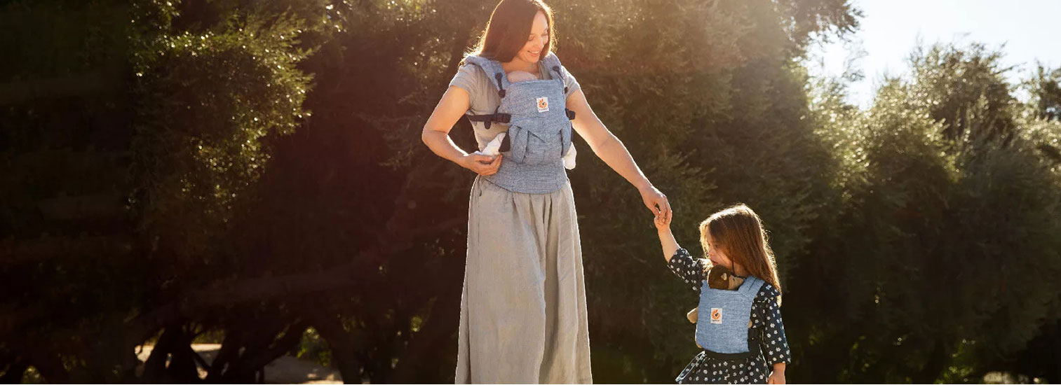 Save 10% on the amazing Ergobaby Omni 360 Baby Carrier, our Sling of the Month.