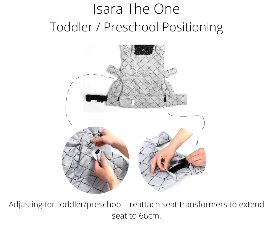 Isara The One Provides Optimal Positioning Even For Toddlers