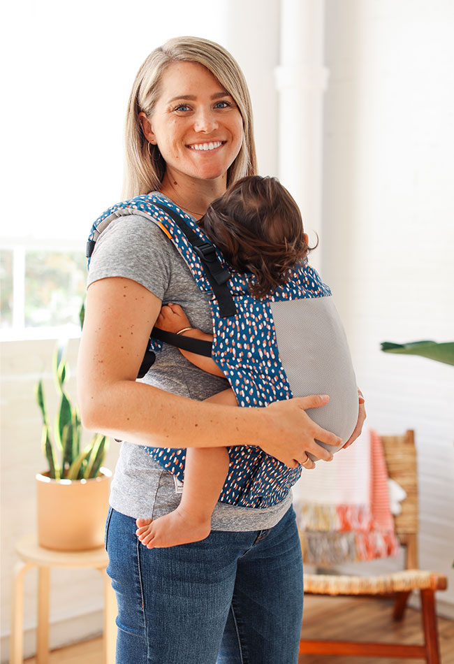 Tula Coast Carriers are great for babywearing in the summer