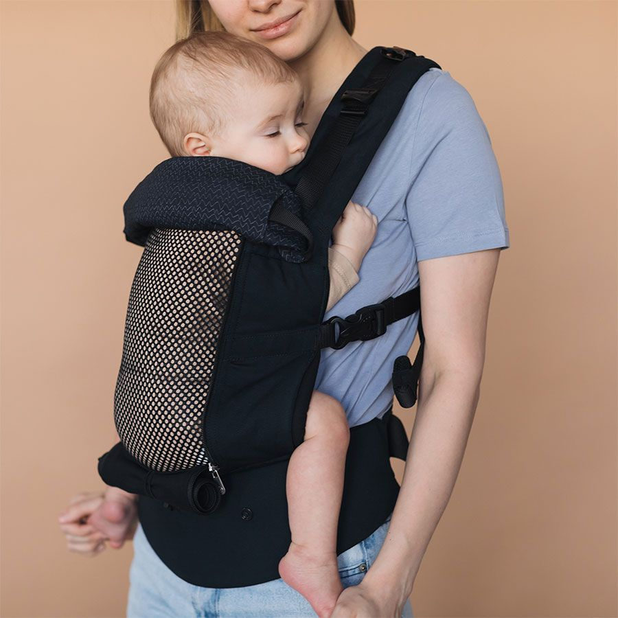The Love & Carry AIRX is a great option for summer as it has a rollaway mesh panel.
