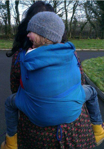 Using The Didymos Didytai With A Toddler