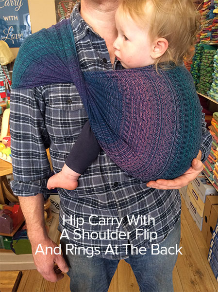 Ring Sling Front Carry