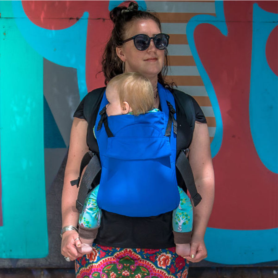 The Integra Solar Baby Carrier is a great option for summer as it is so light.