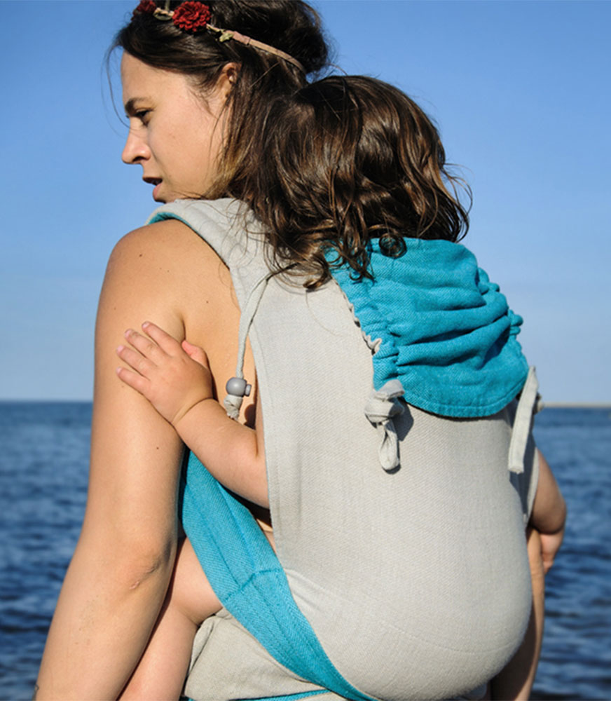 Girasol Mysol - great for babywearing in summer