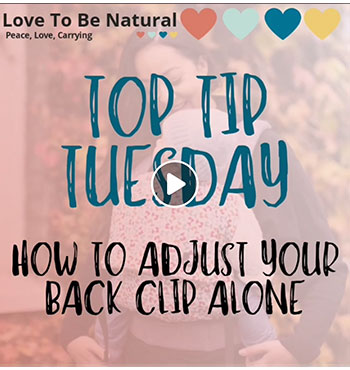 How To Adjust Your Back Clip By Yourself