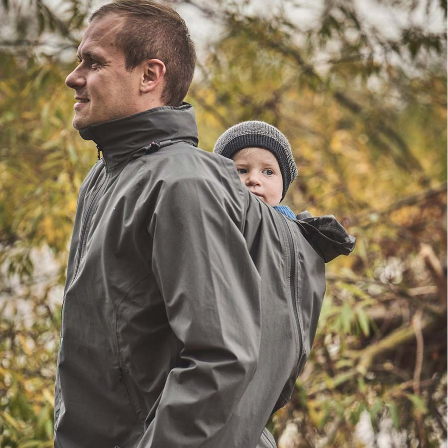 Buy men's babywearing coats, jackets and covers online in the UK