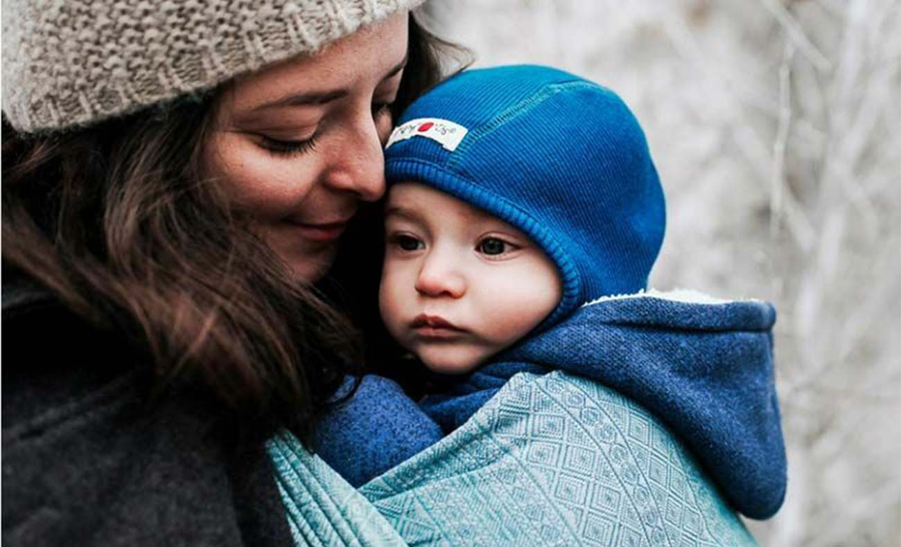 Babywearing in Cold Weather Blog