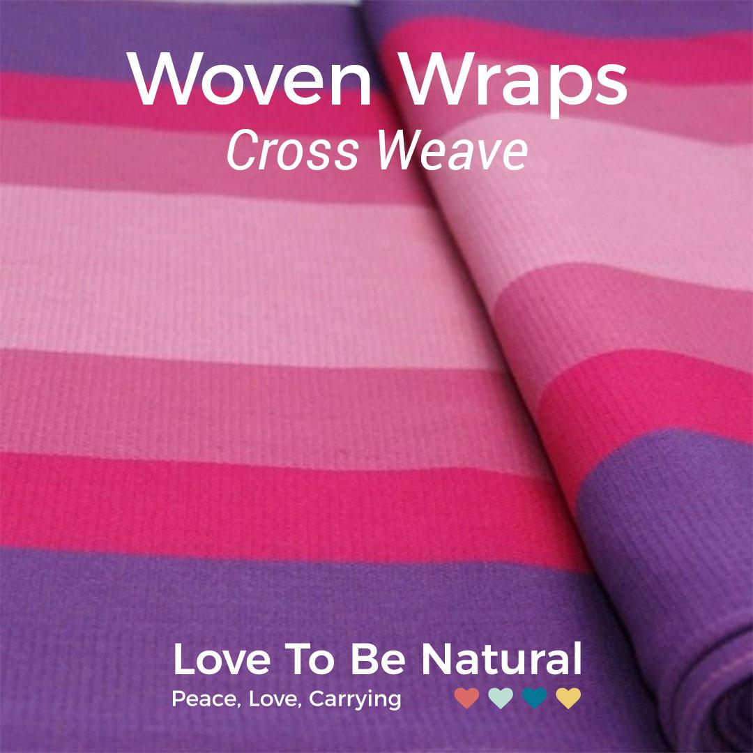 Cross-weave woven wraps
