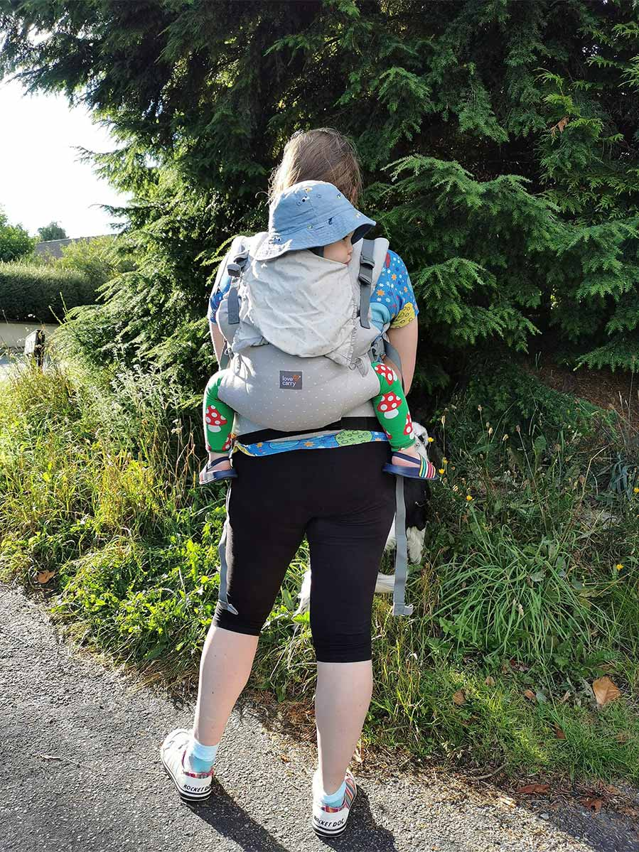 Laurna's Love And Carry Baby Carrier Review