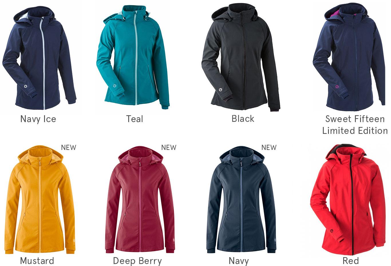 This is Mamalila Babywearing Softshell Allrounder Colour Range