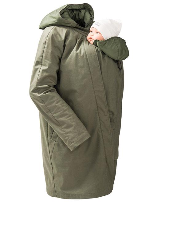 Mamalila Short Coat With Insert Front