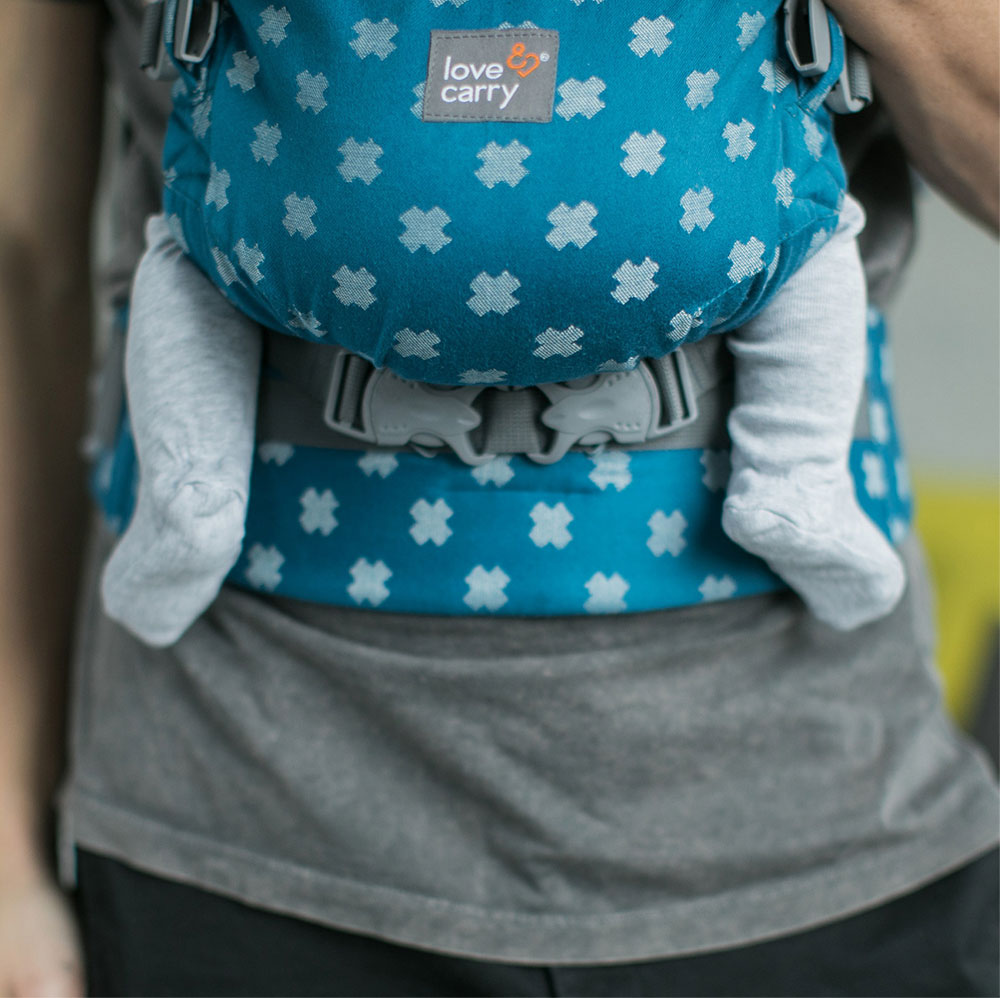 Love And Carry One Plus Baby Carrier Biscay
