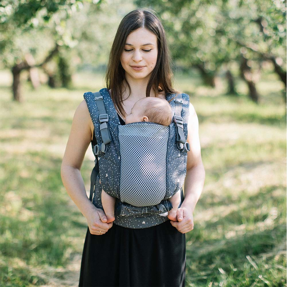 Love And Carry One Plus Cool Baby Carrier Review