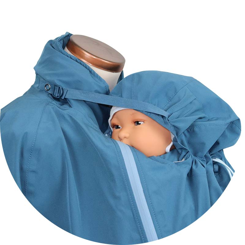 Mamalila Babywearing Rain Jacket Integrated Head Support