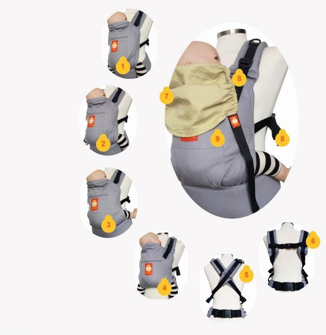 Hana Expand Baby - Toddler Carrier