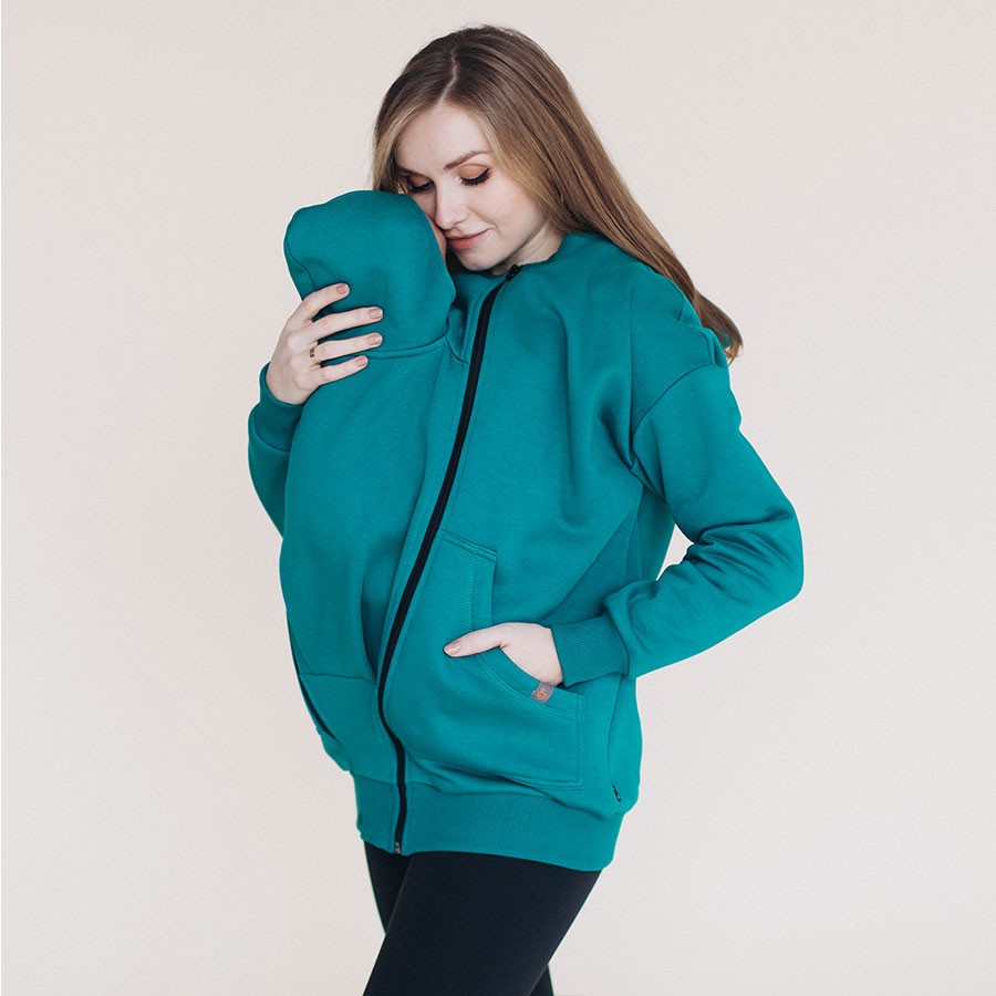 Love & Carry Hoodie Biscay