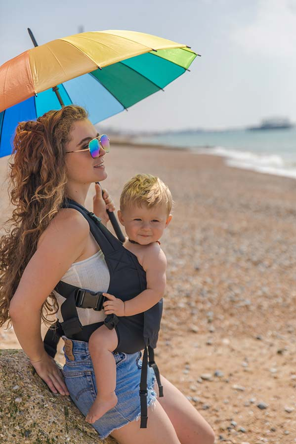 The Integra Baby Carrier - Babywearing In Summer