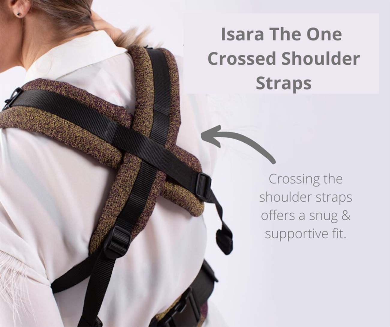 Isara The One Cross Shoulder Straps