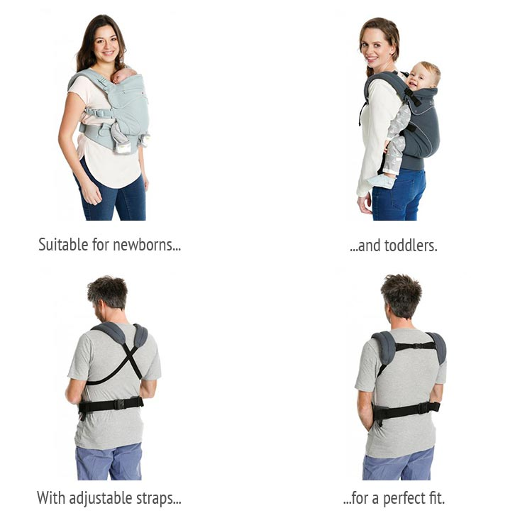 Showing Different Buckle Carriers